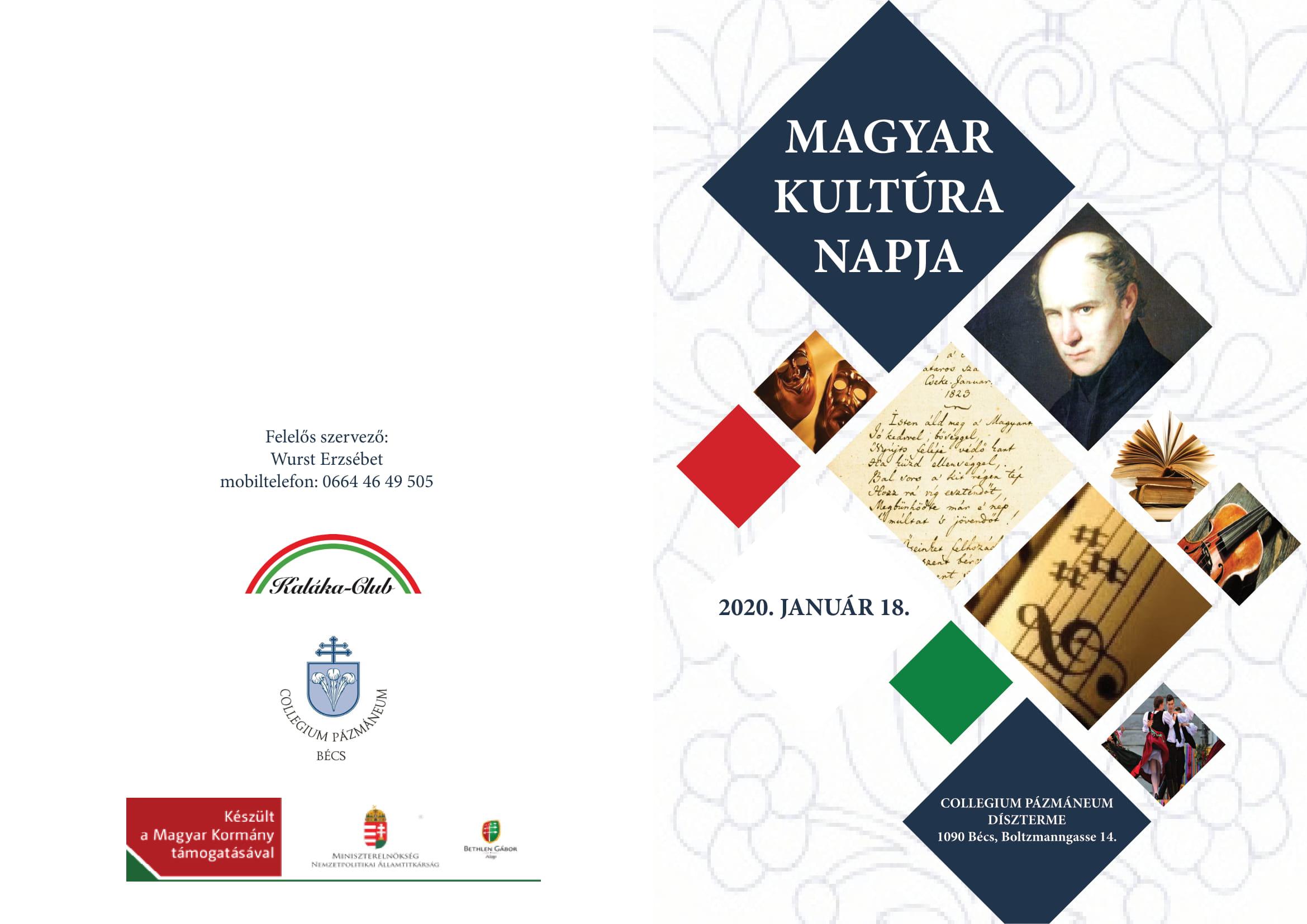 Magyar Kultúra Napja – 2020.01.18